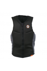 PL Slider Vest Half Padded FZ Bk/Or